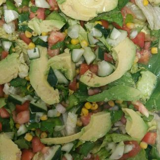 tray of cobb salad